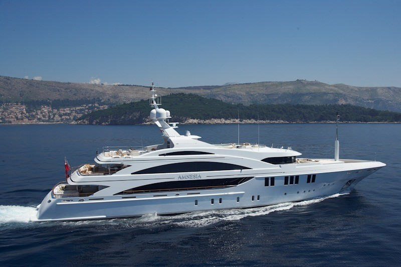 Cruising On Yacht ANDREAS L