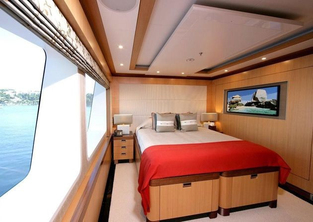 Guest's Cabin On Board Yacht ANDREAS L