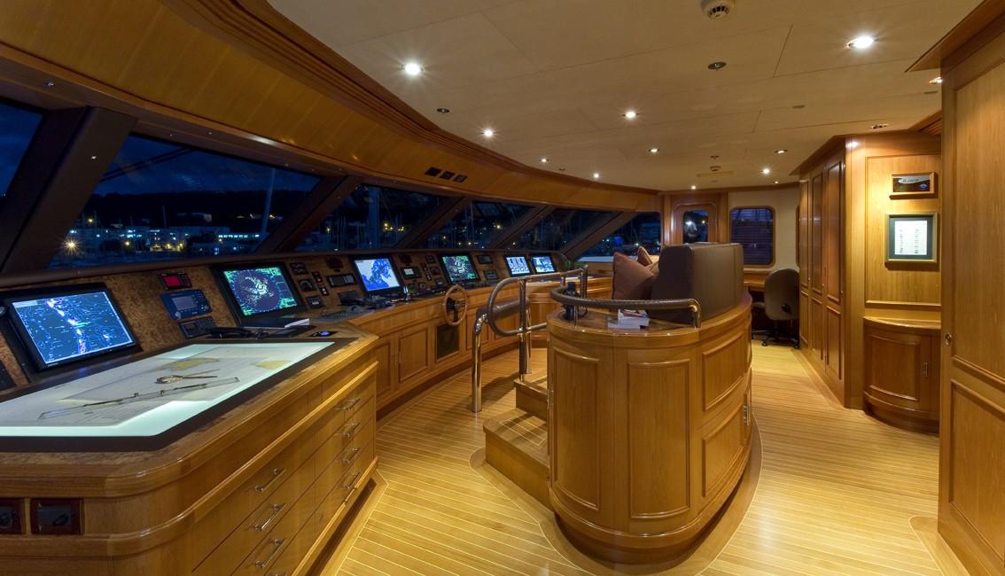 Bridgedeck On Board Yacht BLUE MOON