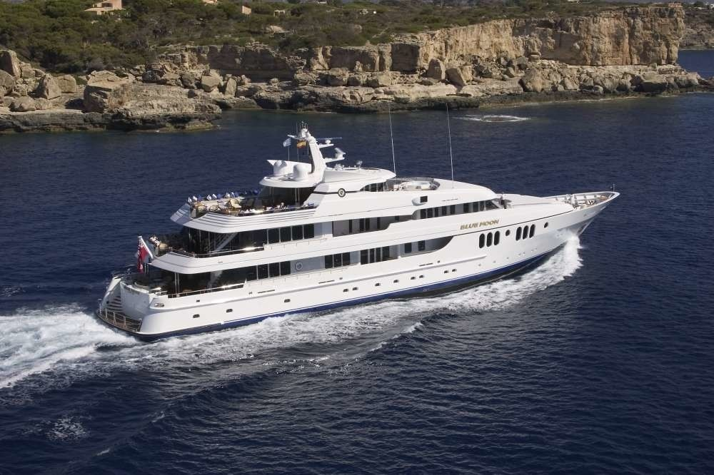 Overview: Yacht BLUE MOON's Cruising Image