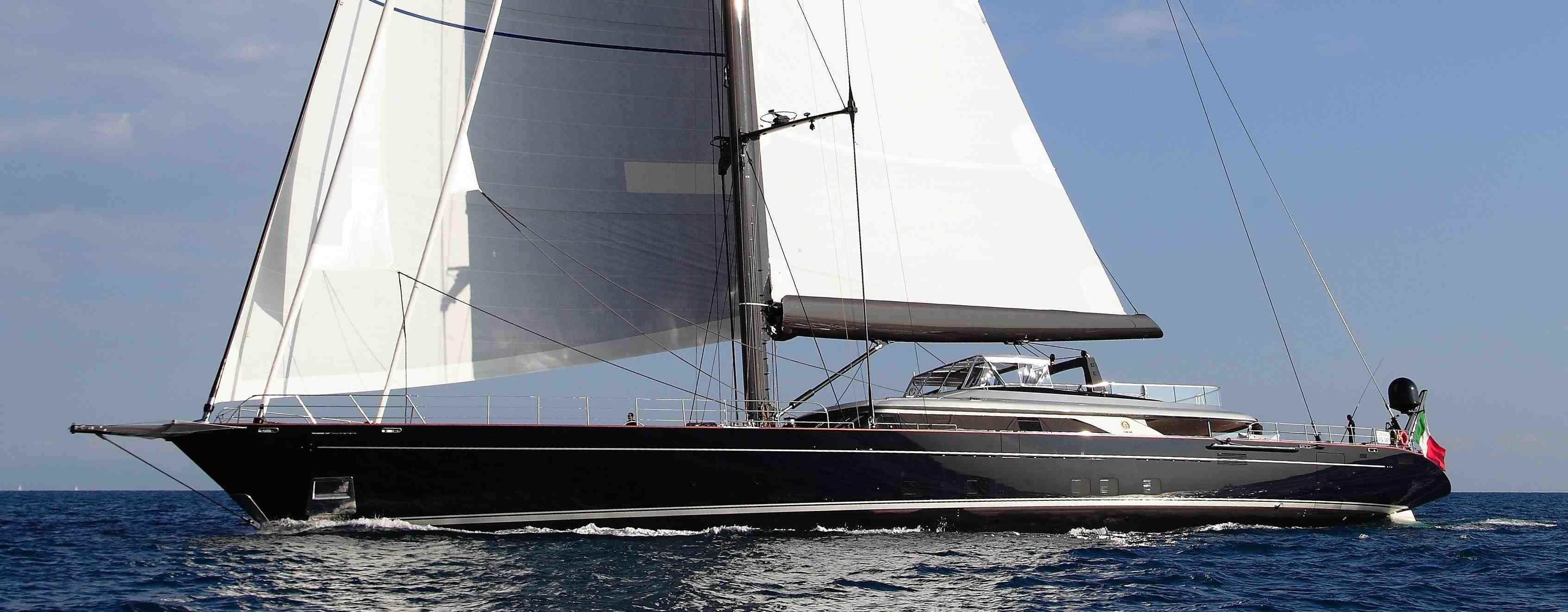 60m custom sloop by Perini Navi