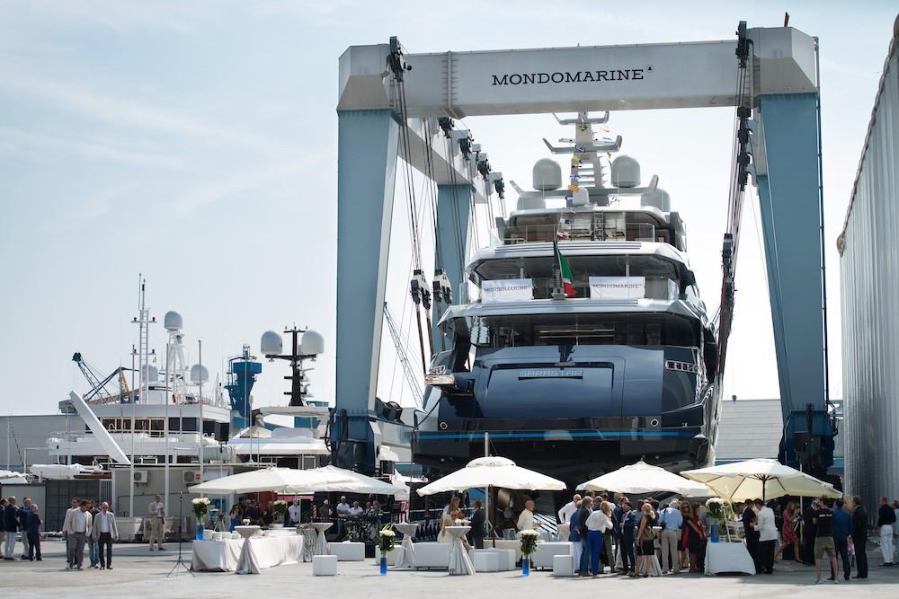 60m custom superyacht by Mondomarine launched