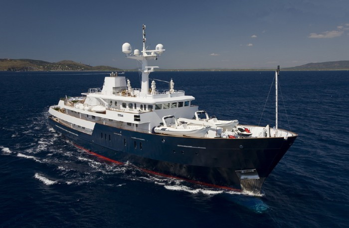 Cruising Aboard Yacht TITAN