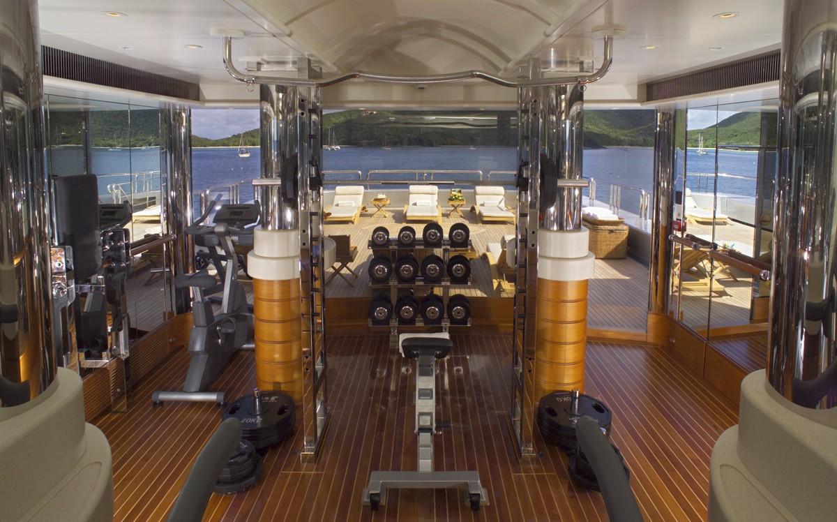 Gym On Board Yacht CALYPSO