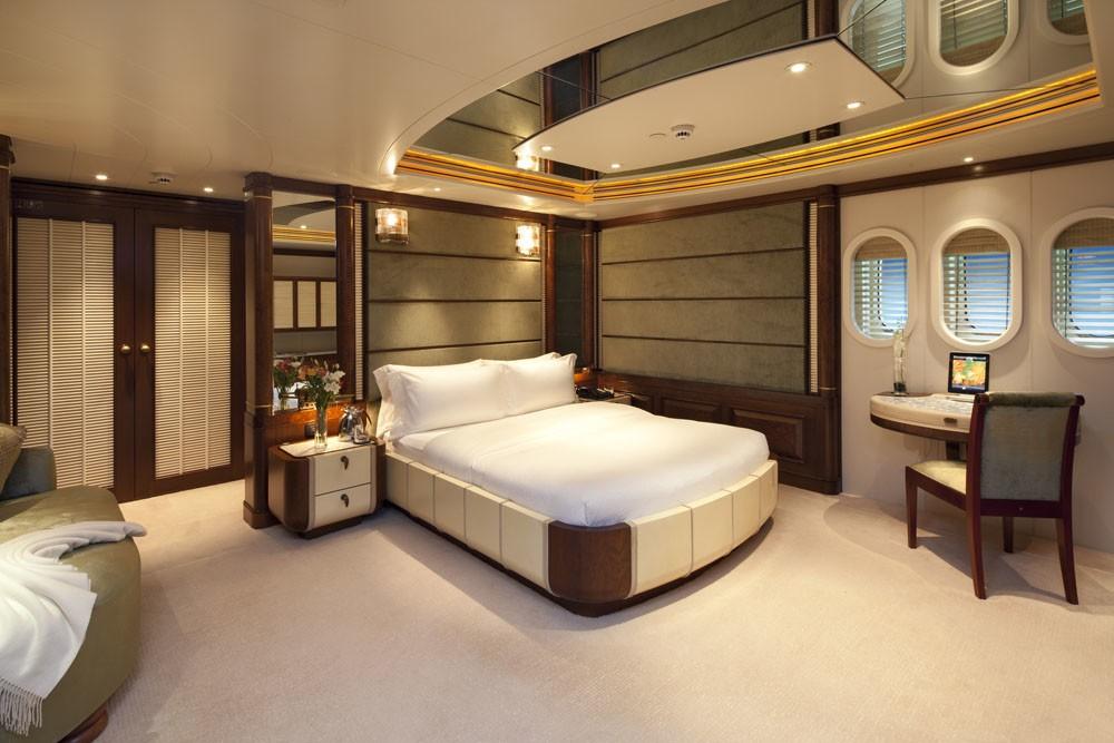 White: Yacht CALYPSO's Lower Deck Cabin Captured