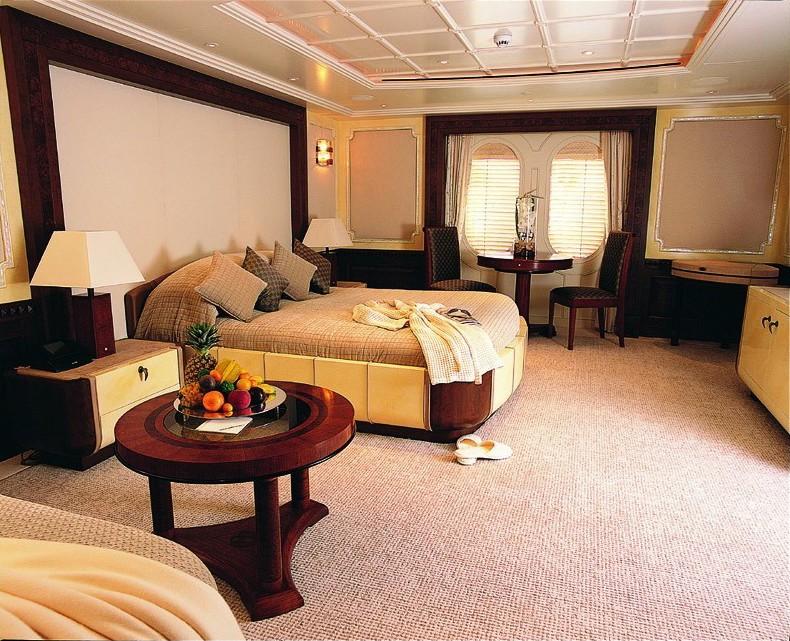 VIP Stateroom Top Deck On Yacht CALYPSO