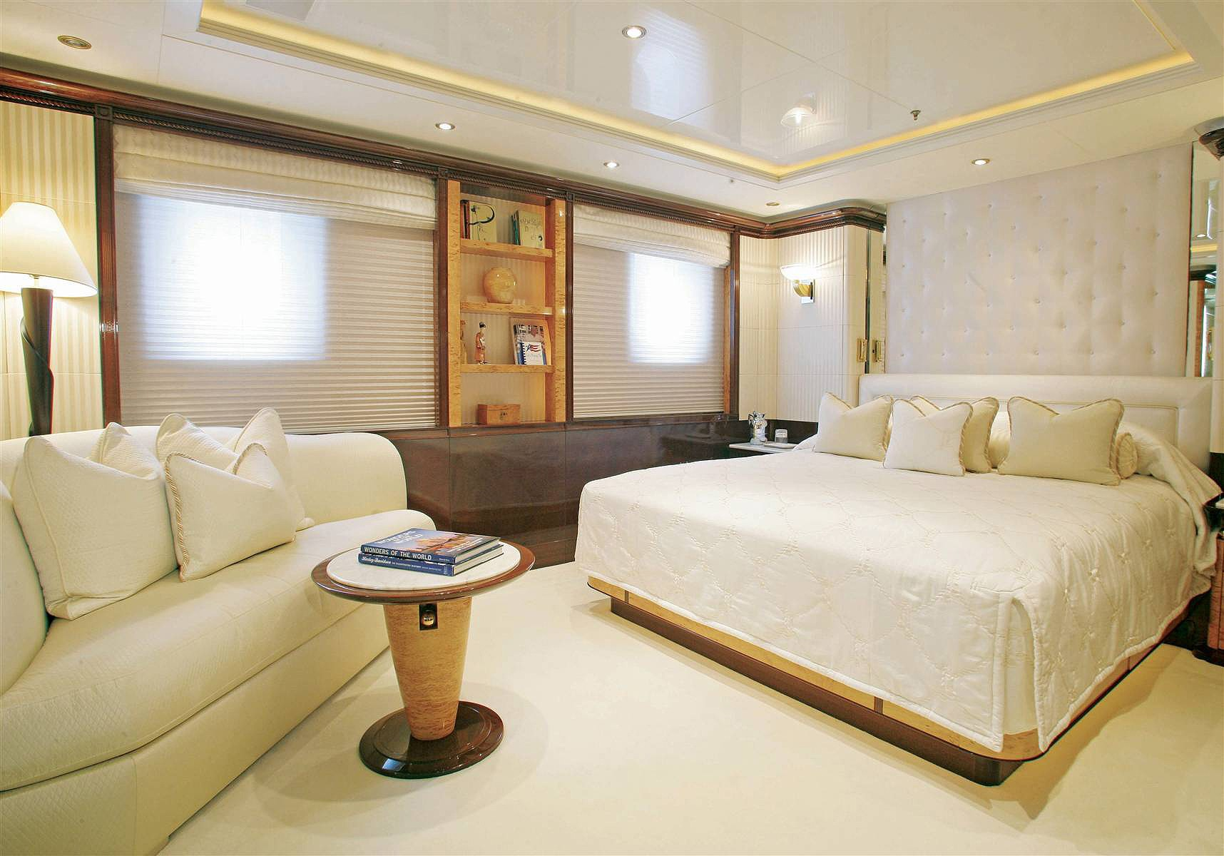 White Guest's Cabin On Yacht LUCKY LADY