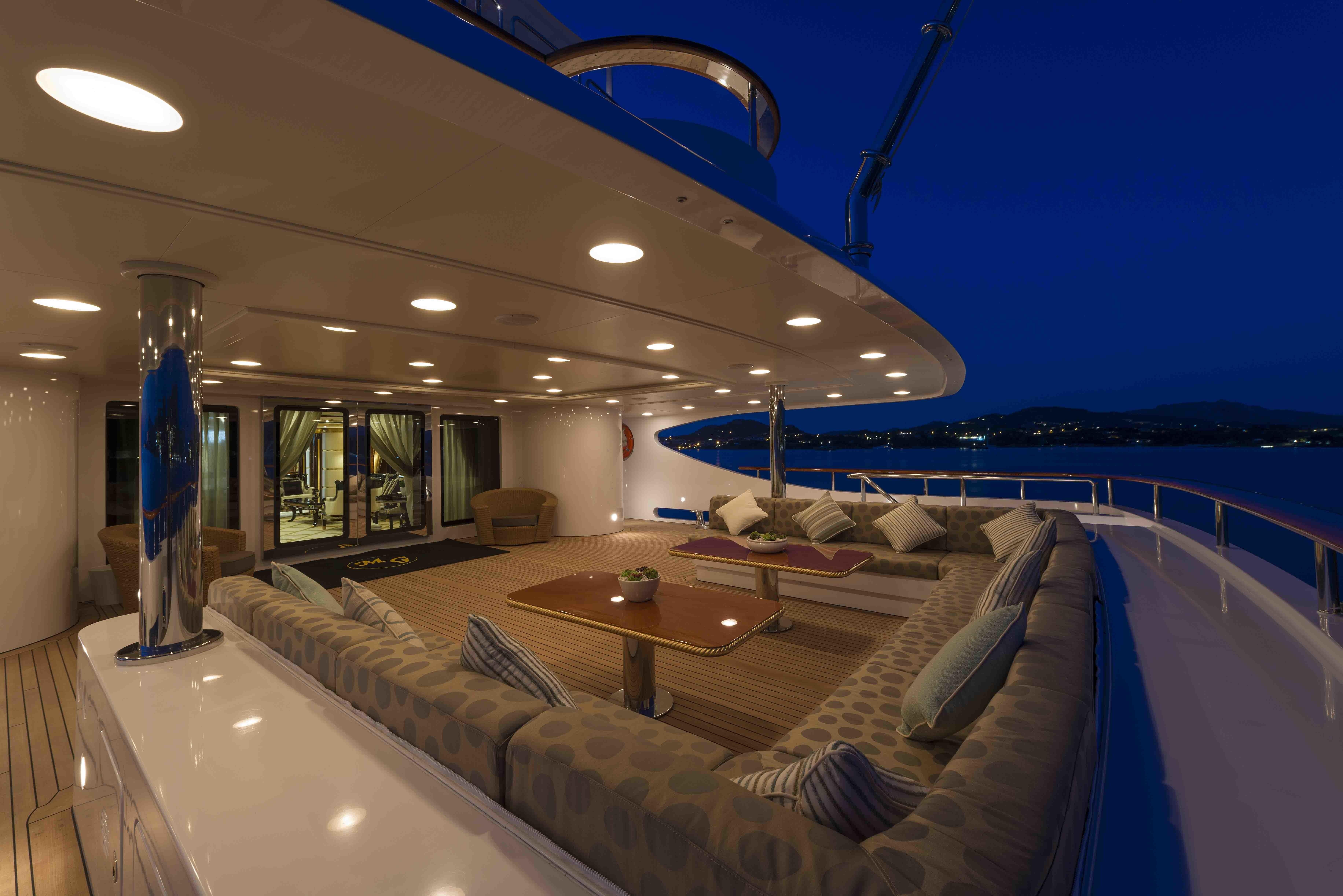 main aft deck exterior area