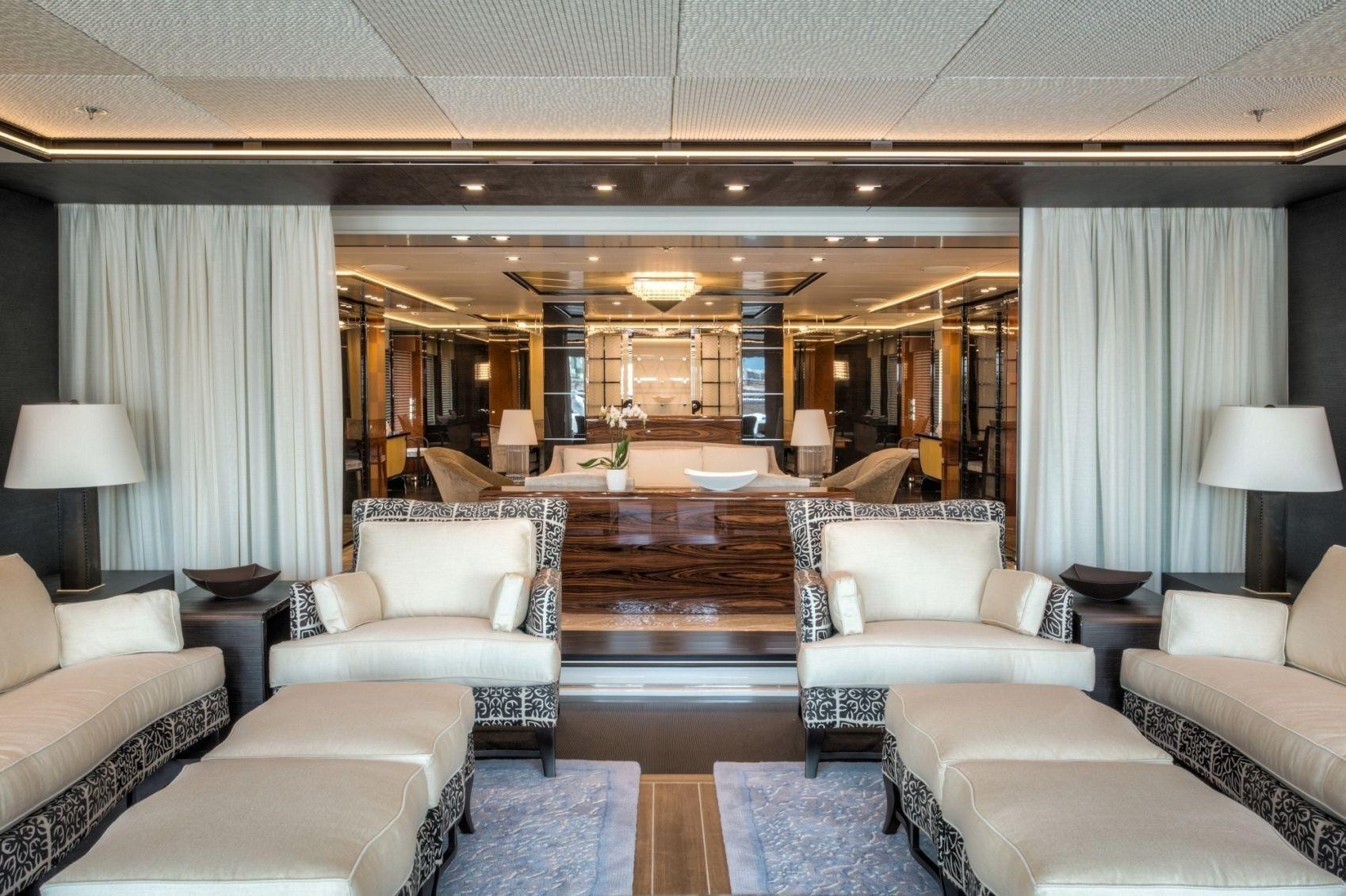main deck saloon areas