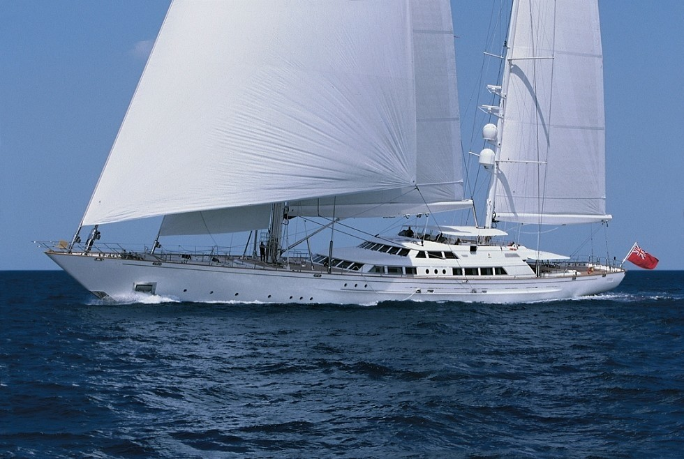 With Full Sail: Yacht SPIRIT OF THE C'S's Premier Overview Captured