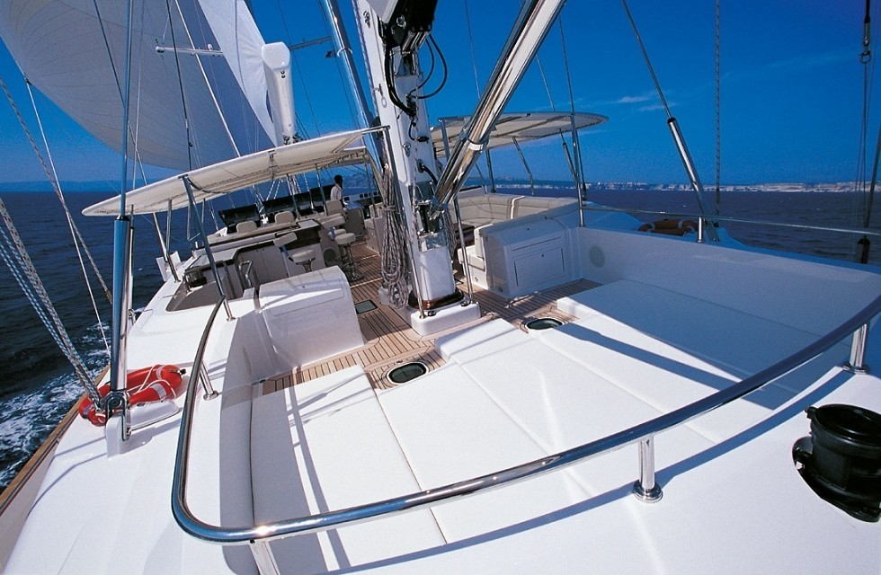 Fly-deck Aspect Aboard Yacht SPIRIT OF THE C'S