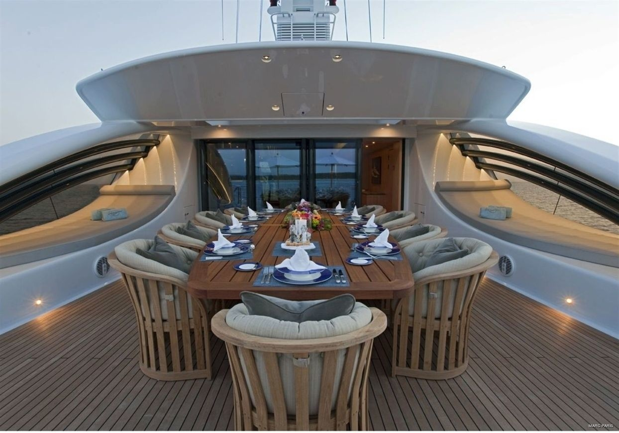 Exterior Sitting On Board Yacht INFINITE SHADES