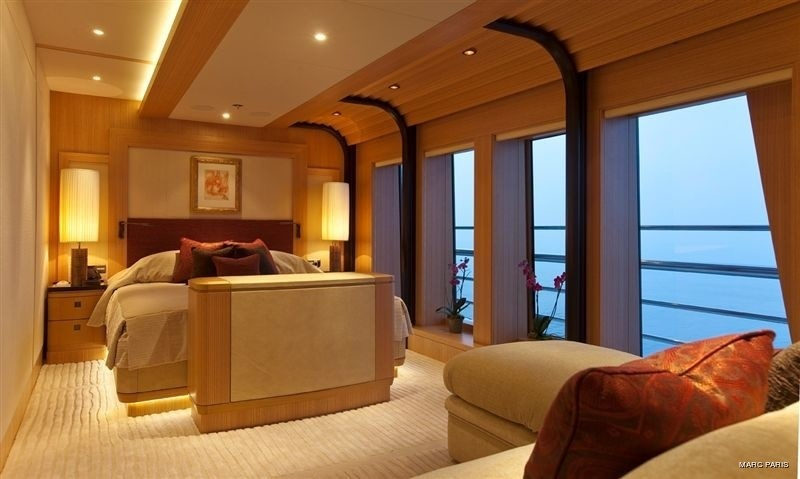 Top Deck: Yacht INFINITE SHADES's Second VIP Stateroom Pictured
