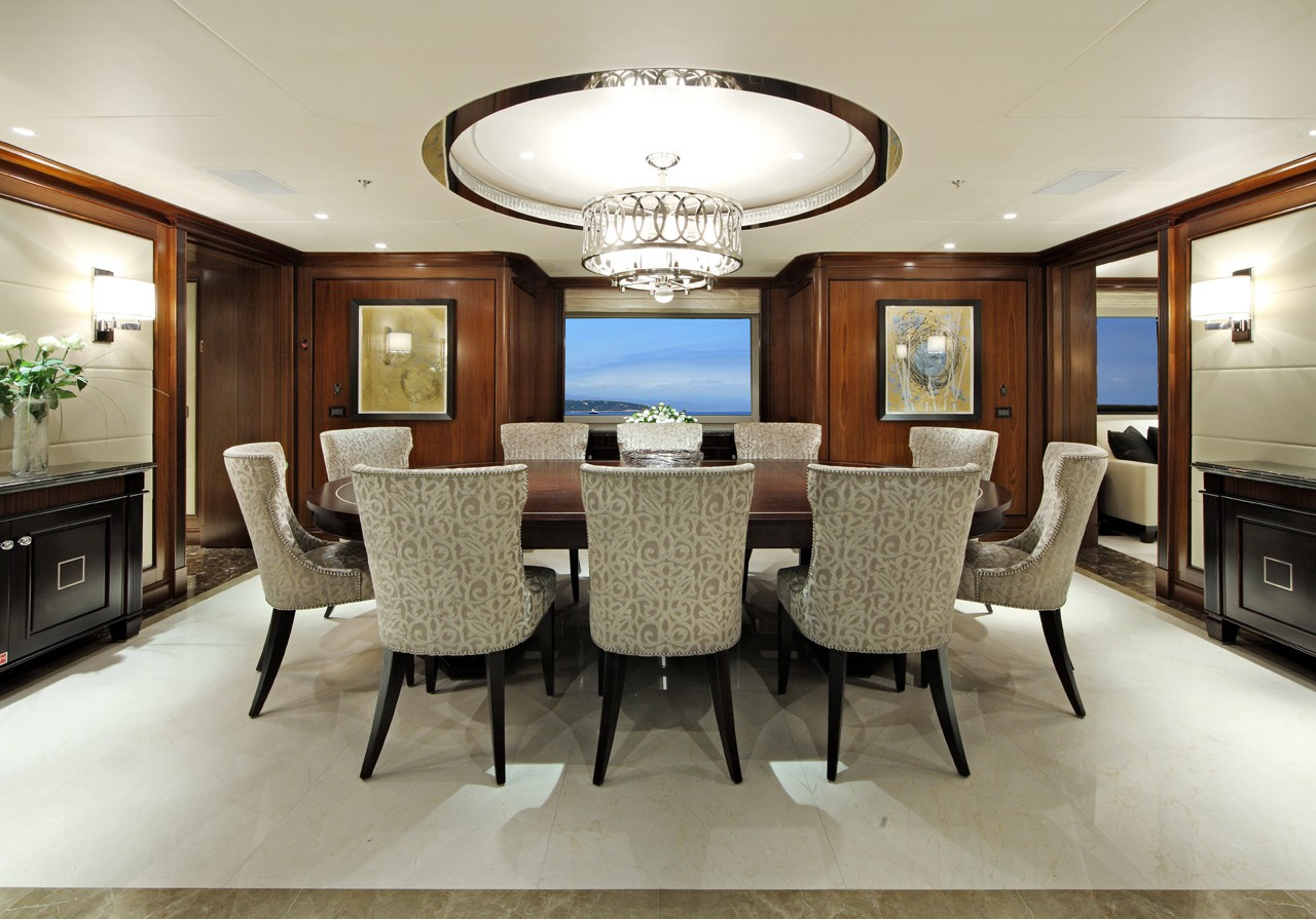 Profile: Yacht SEANNA's Eating/dining Pictured