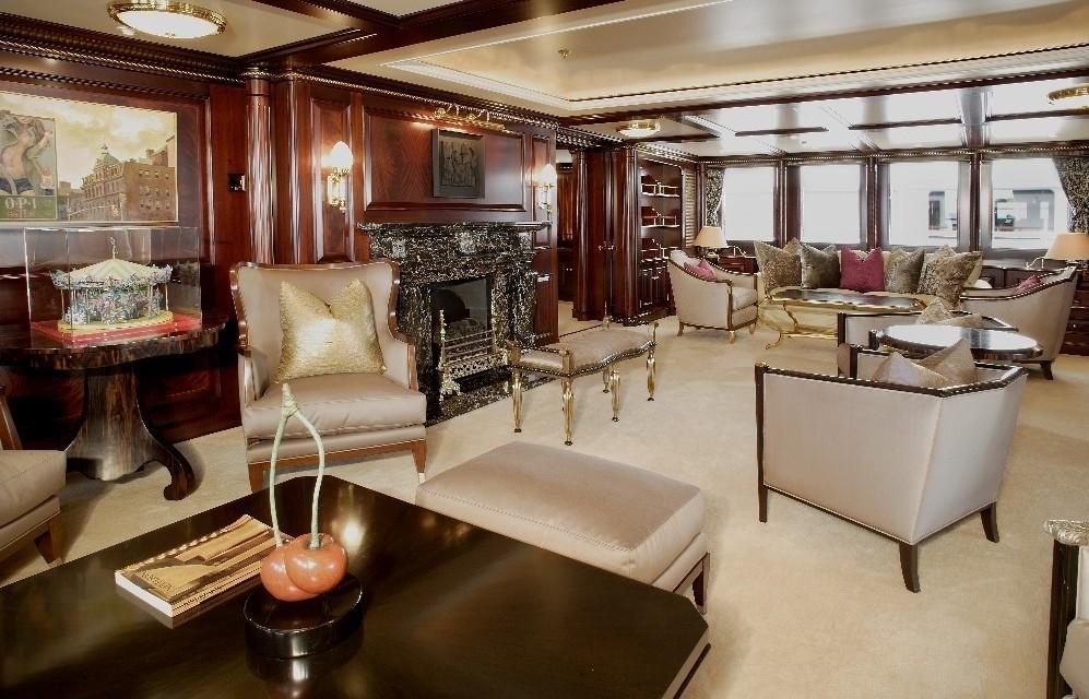 Premier Saloon Aboard Yacht FREEDOM