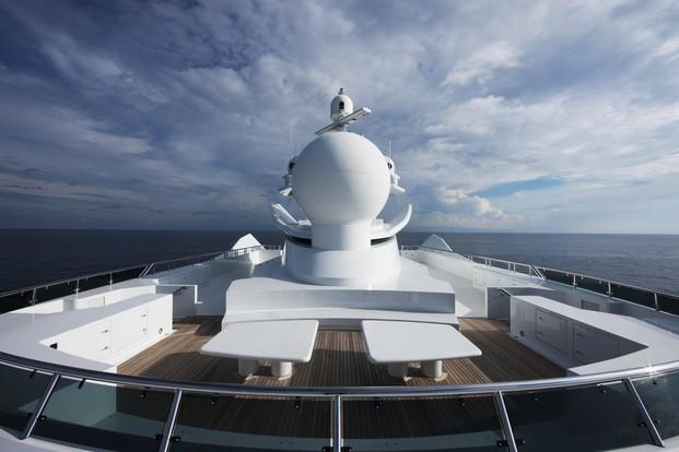 Upper Deck On Board Yacht KOGO