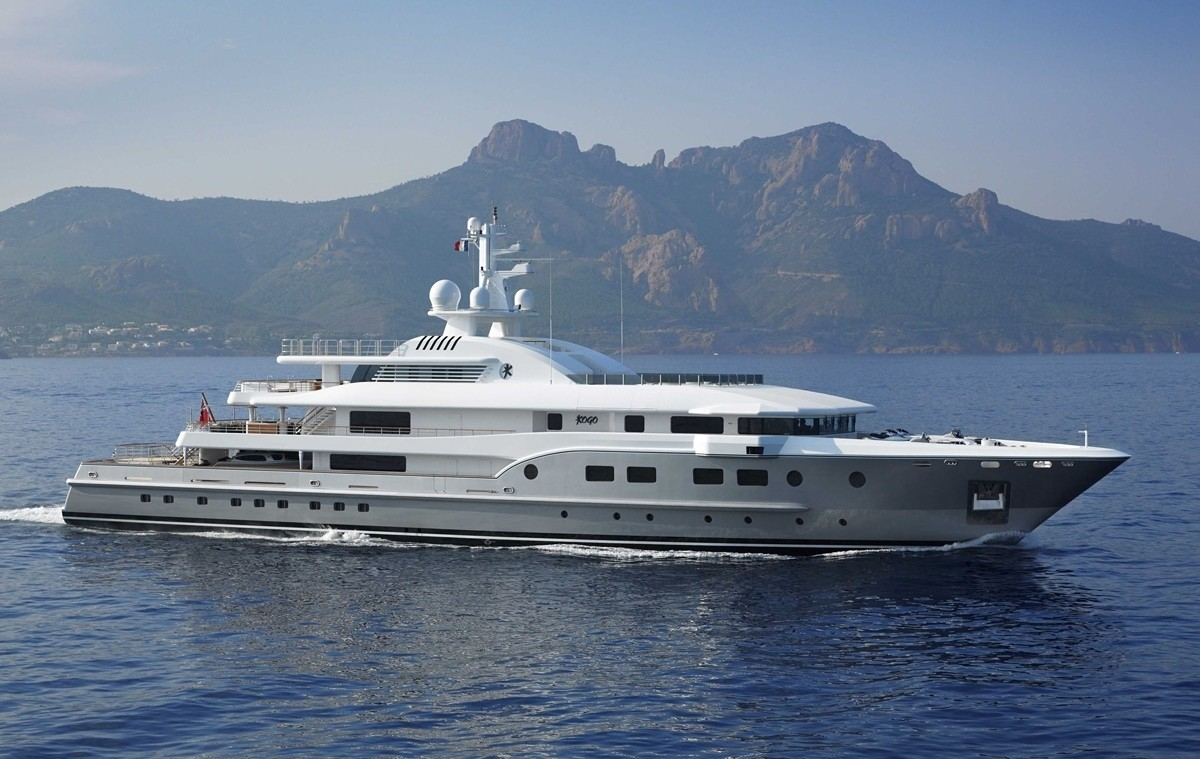 Premier Overview On Board Yacht KOGO