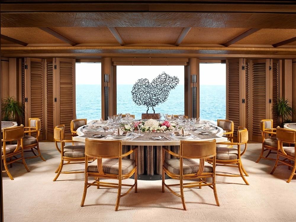 Inside Eating/dining On Yacht KOGO