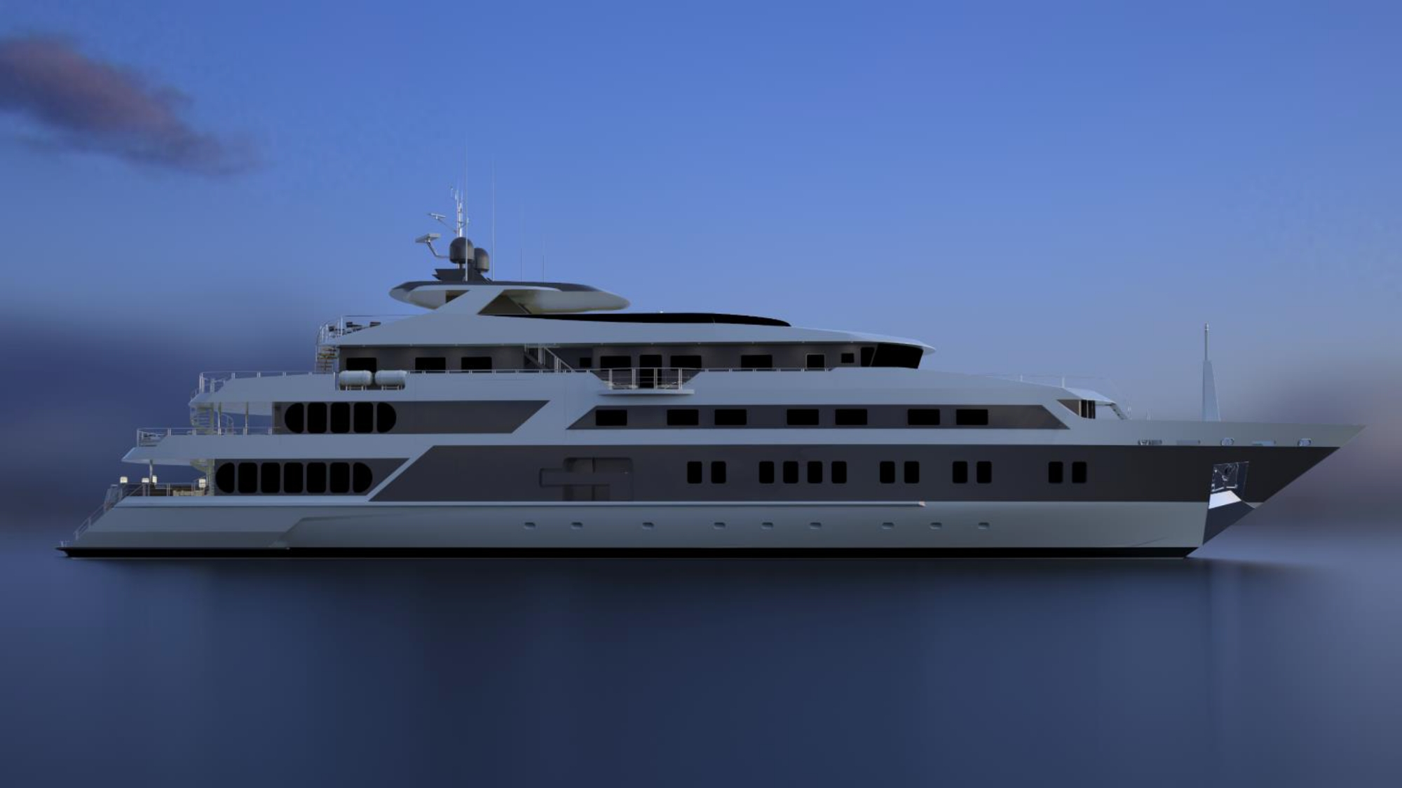 The 72m Yacht SERENITY