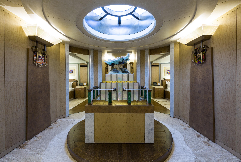 lower deck accommodation hallway