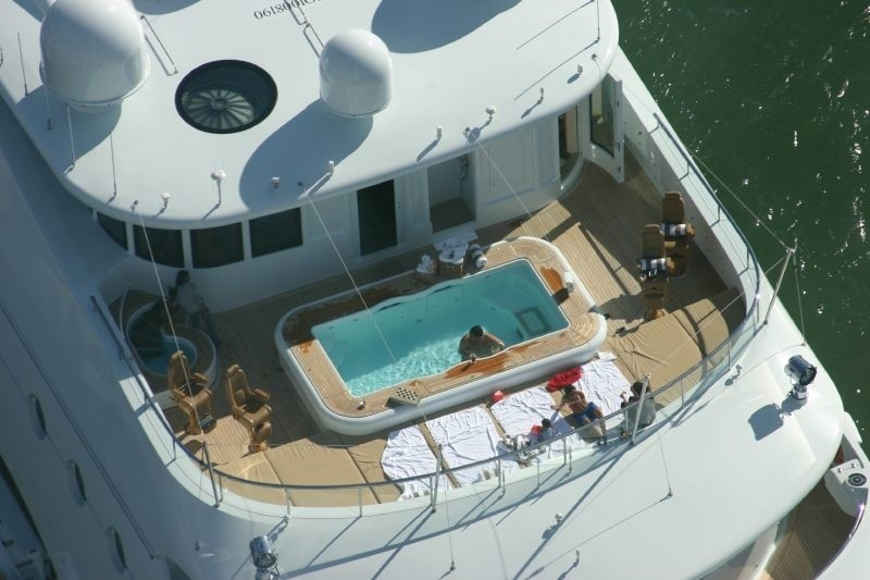 Swimming Pool: Yacht SAMAR's From Above Aspect Image