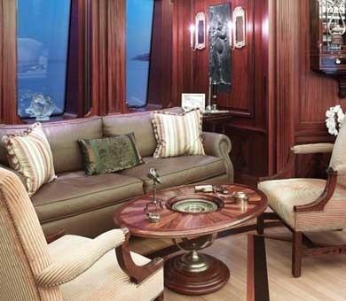 Top Saloon On Yacht SAMAR