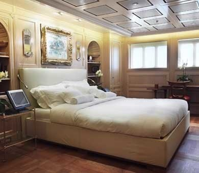 VIP Cabin On Board Yacht SAMAR