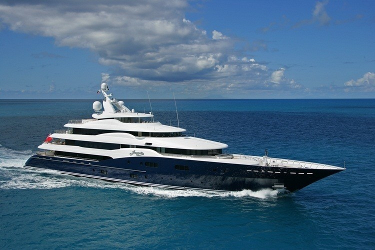 The 78m Yacht AMARYLLIS