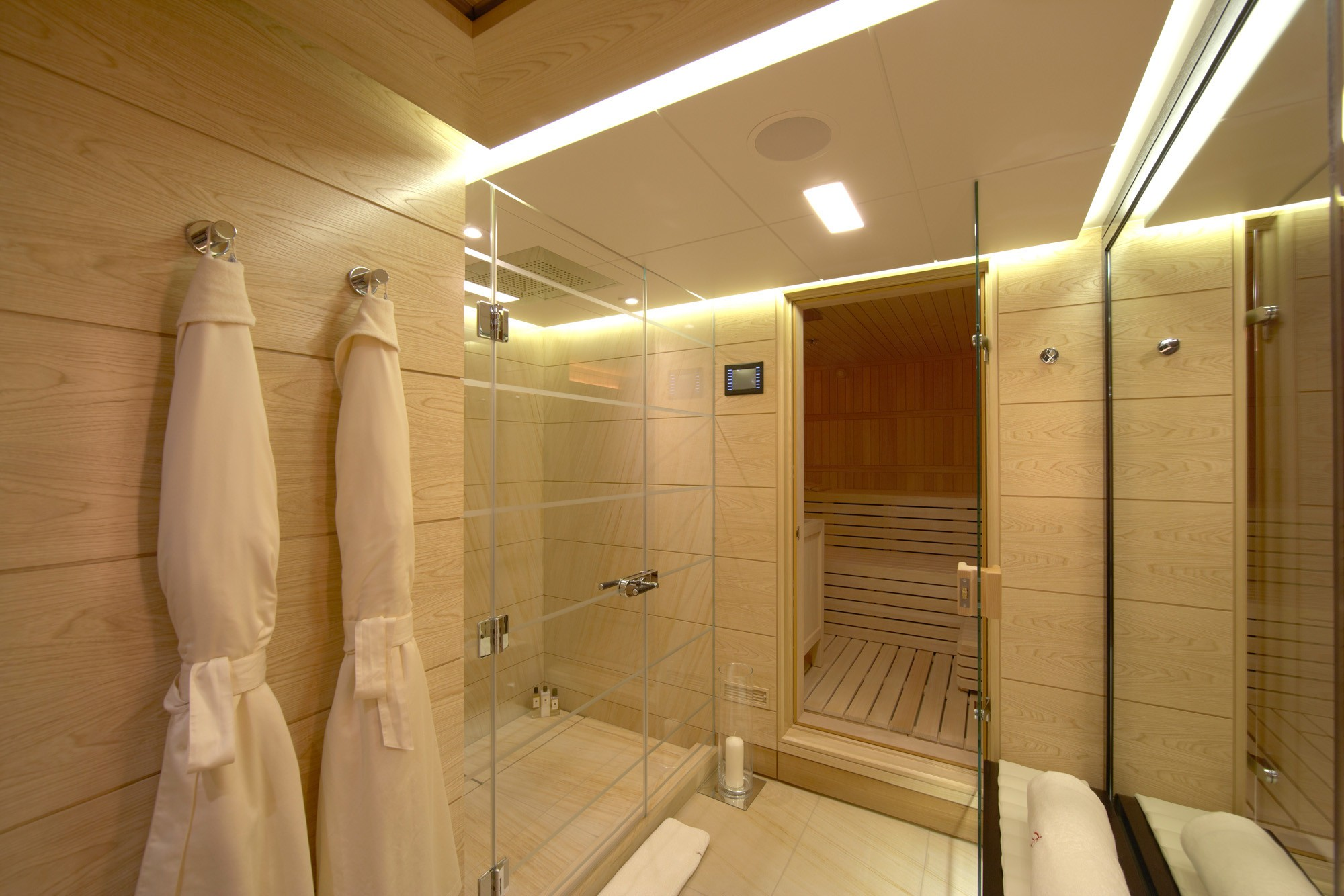 spa and sauna