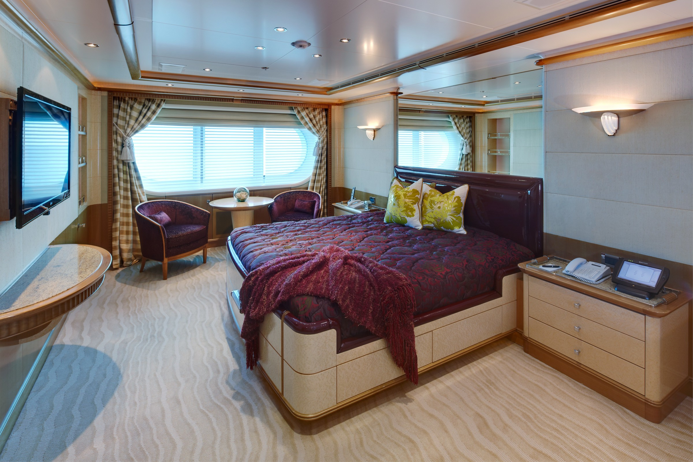 Guest's Cabin Four On Yacht PEGASUS VIII