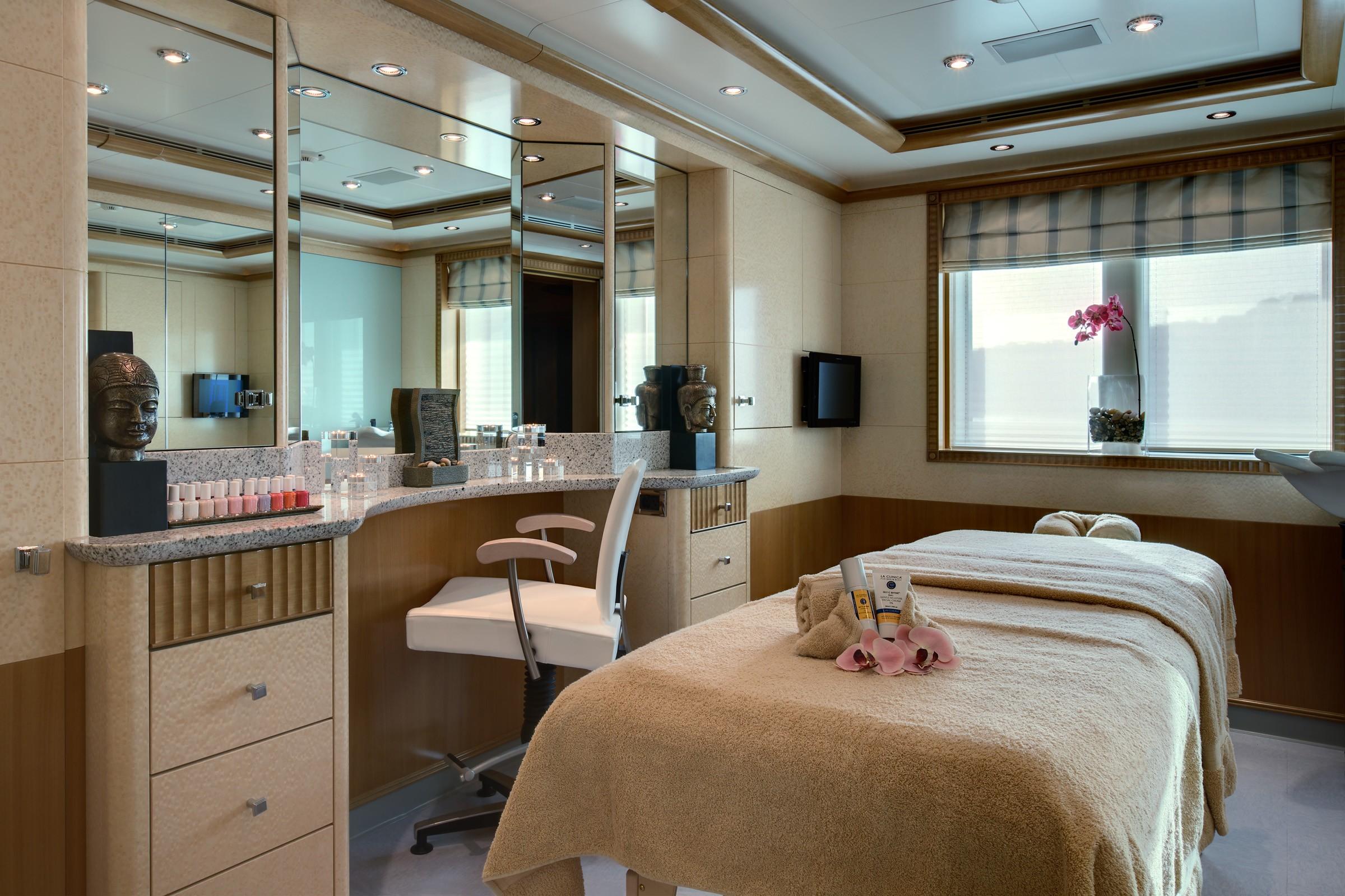 Beauty Saloon Aboard Yacht PEGASUS VIII