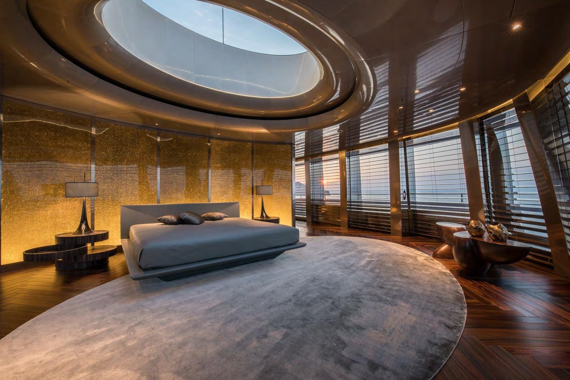master suite with panoramic views