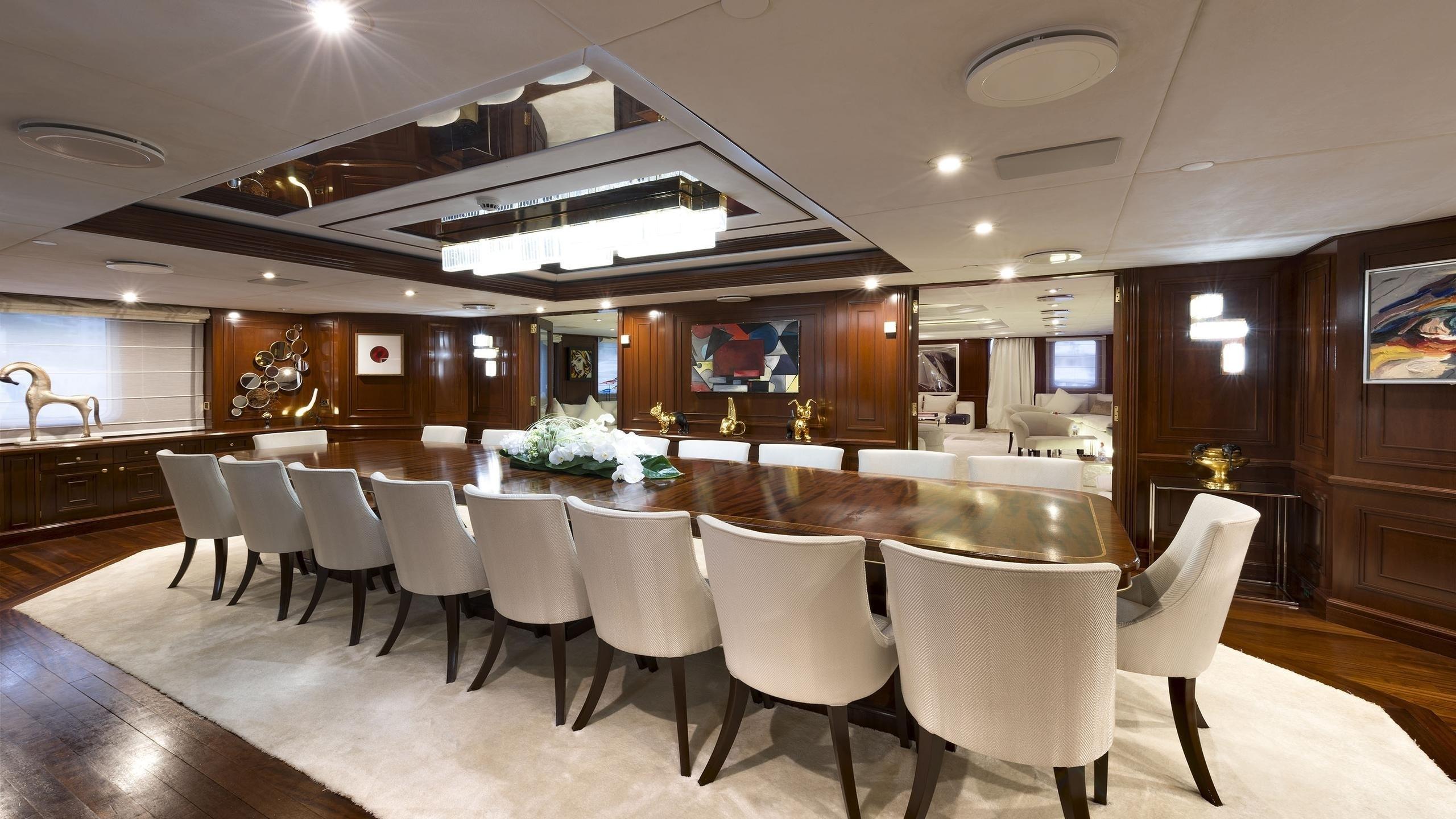 The 86m Yacht CHAKRA