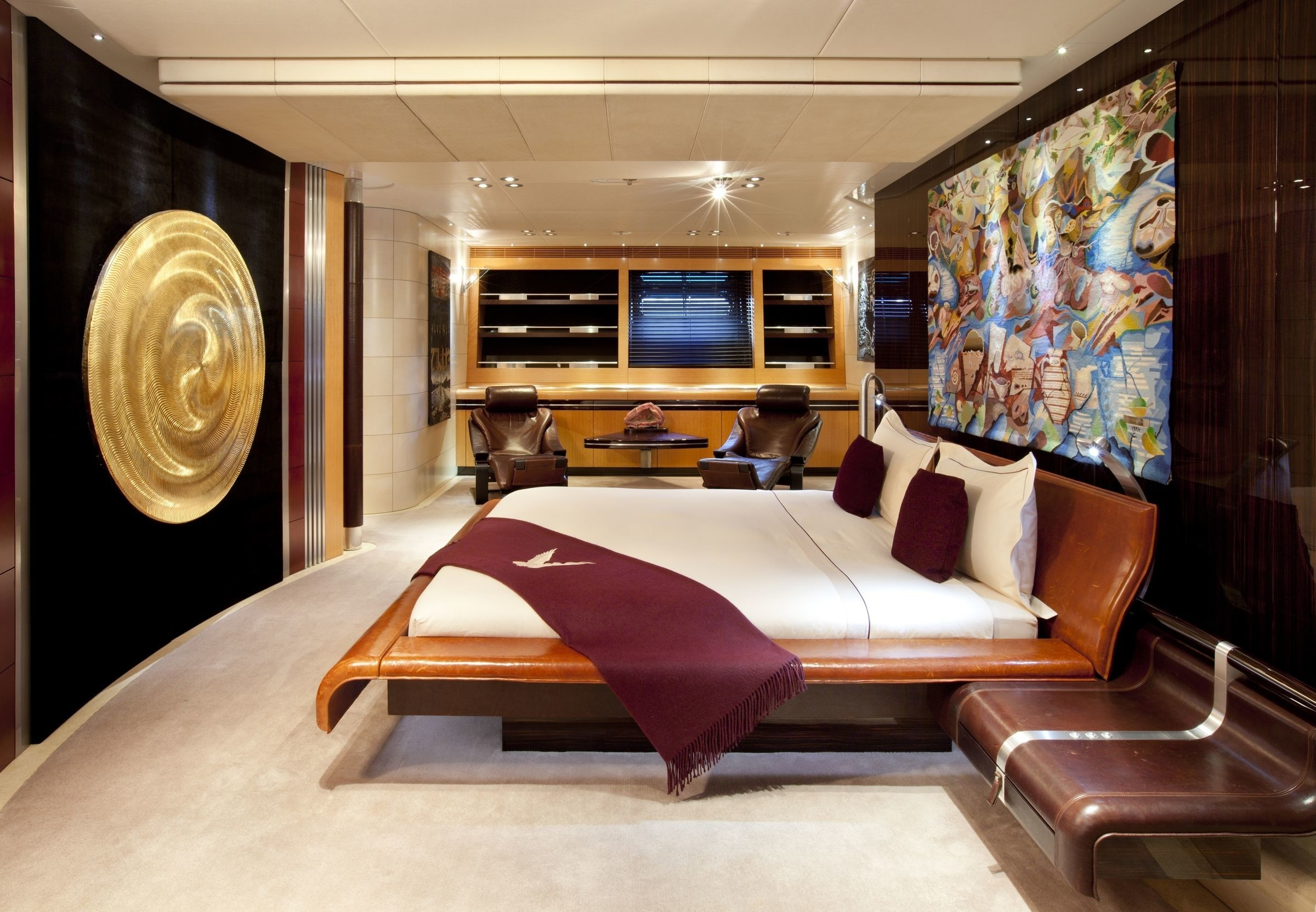 Guest's Cabin Aboard Yacht MALTESE FALCON