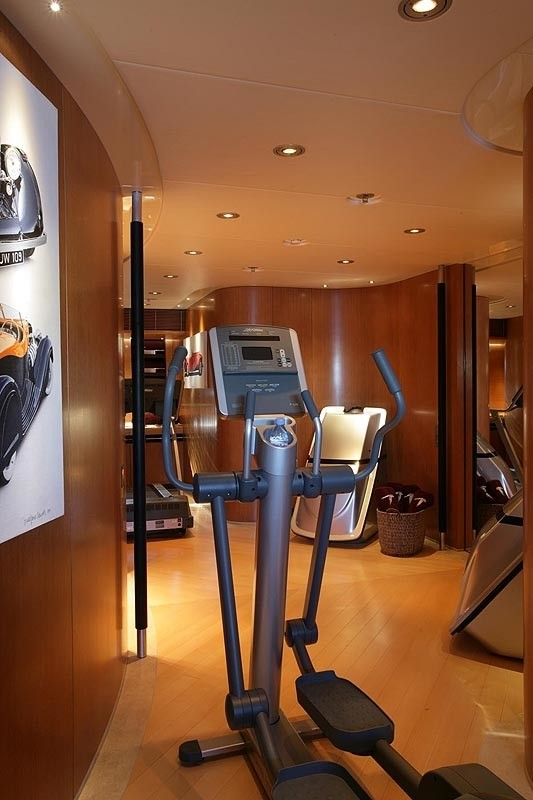 Gym On Board Yacht MALTESE FALCON