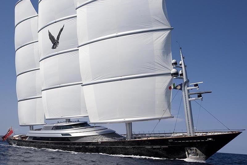 The 88m Yacht MALTESE FALCON