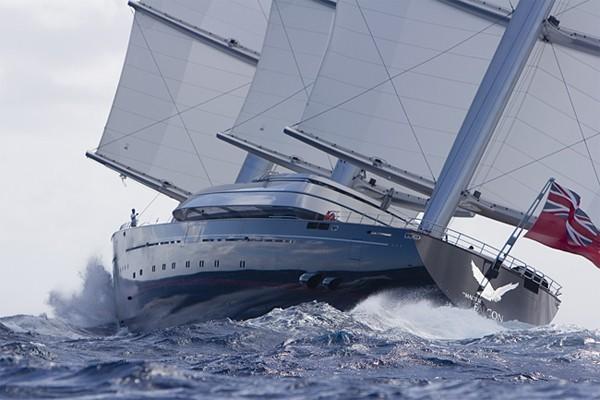 The 88m Yacht MALTESE FALCON