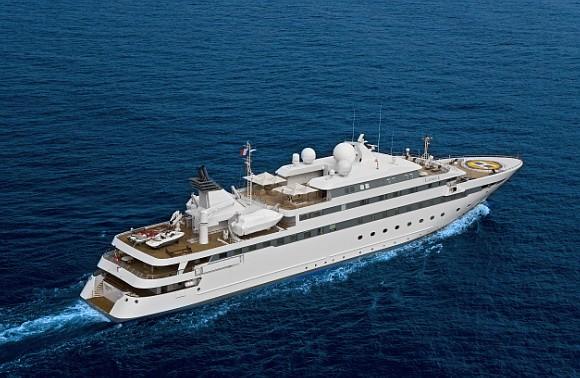 The 89m Yacht LAUREN L