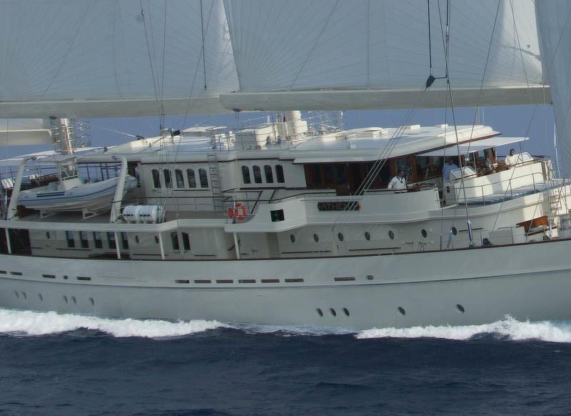 sailing close up
