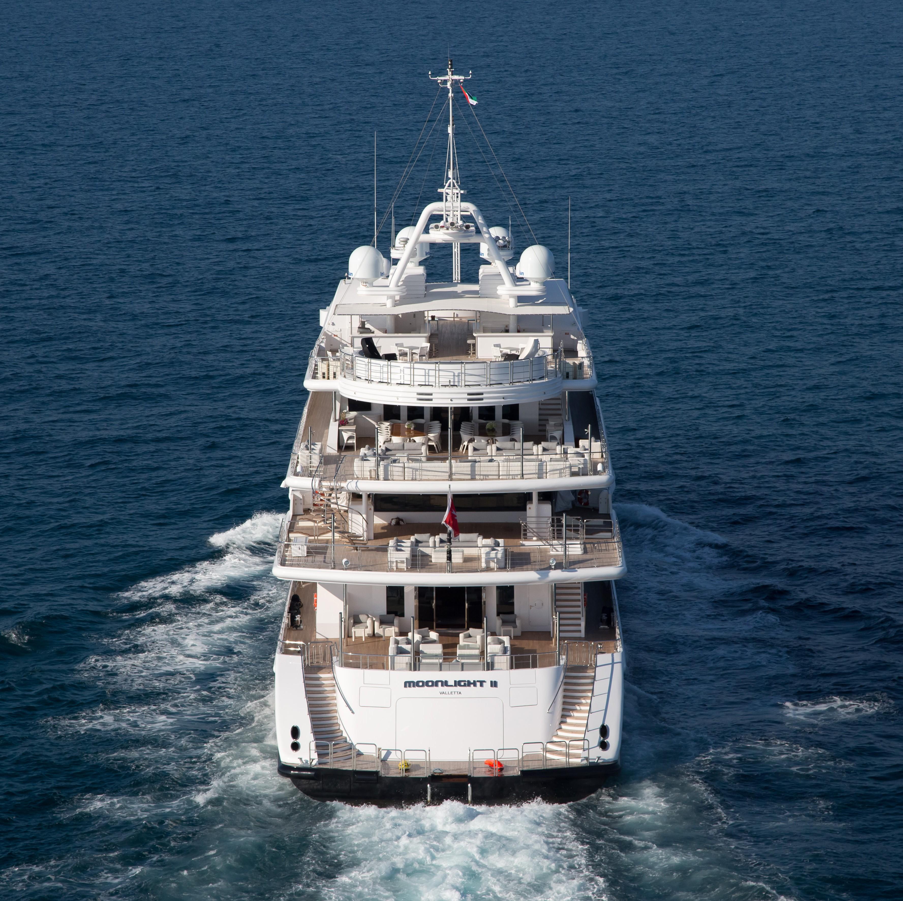 Moonlight Ii Aboard Yacht MOONLIGHT II