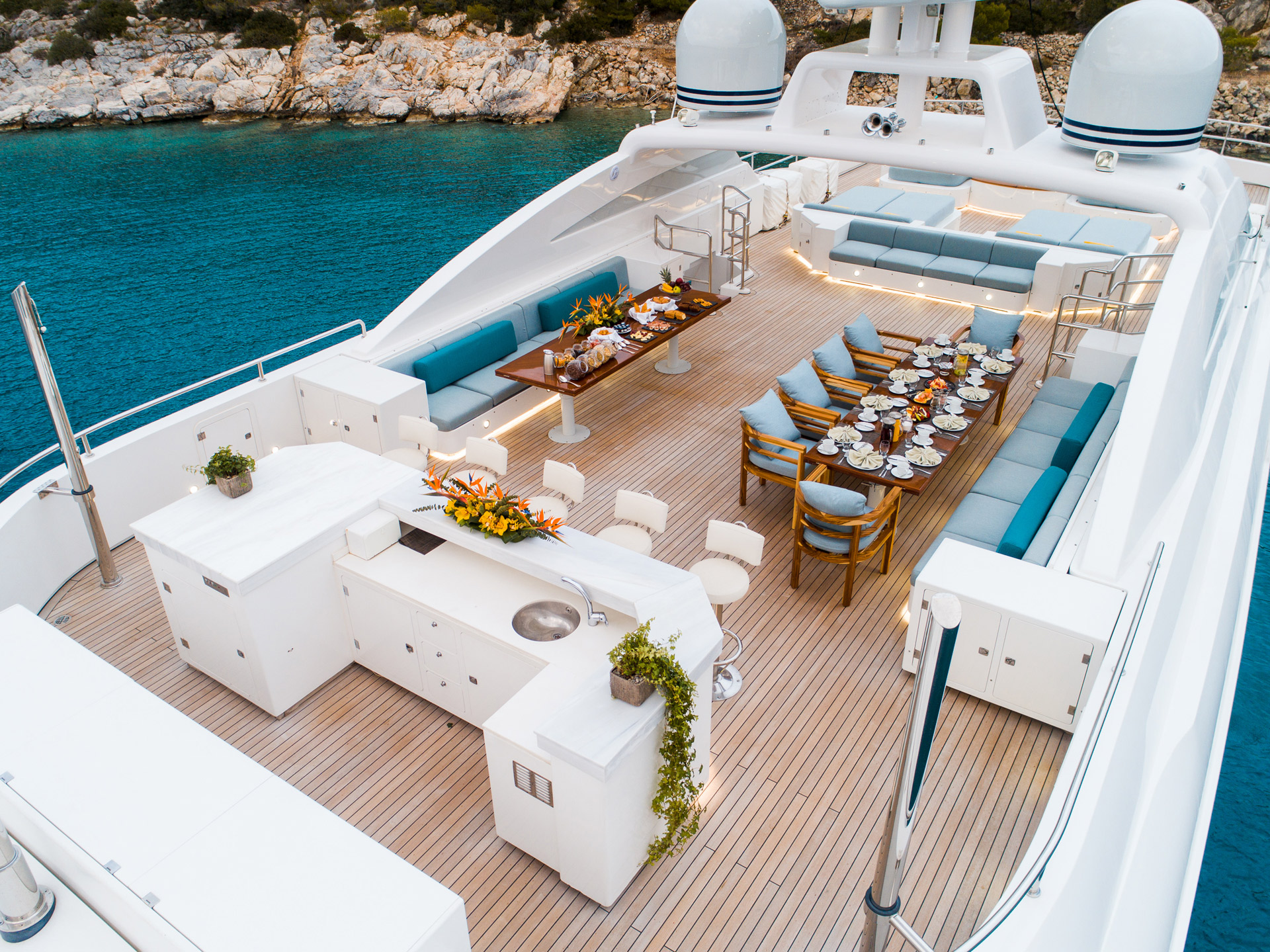 Sun Deck From Above