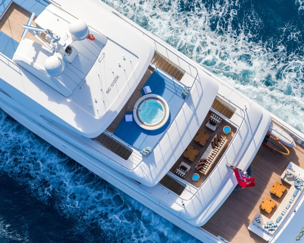 Aerial View Of The Decks