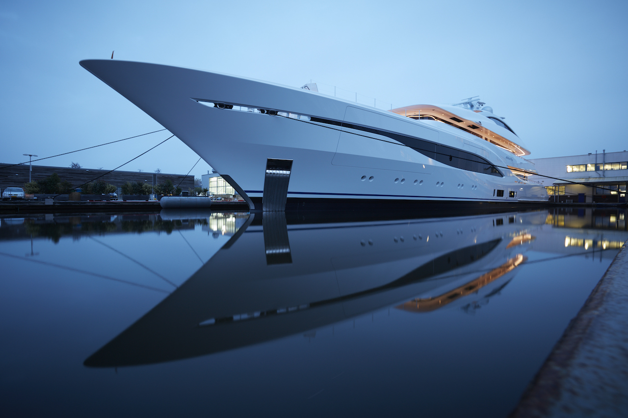 Superyacht Launched At Feadship