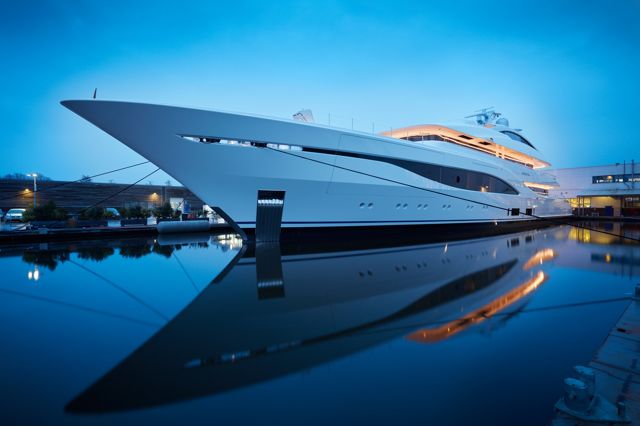 Feadship Motor Yacht Available For Charter
