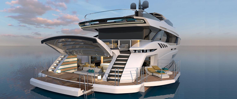 Yacht Mangusta Gransport 45 Overmarine Group