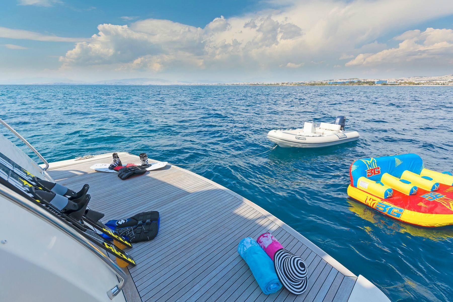 Water Toys And Swim Platform