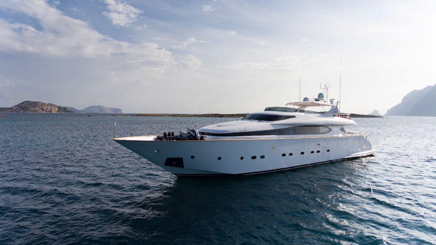 Profile Of Yacht AMAYA