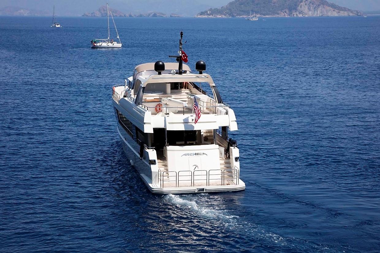Aft View Cruising