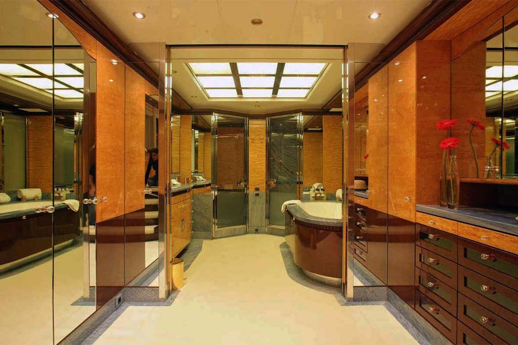 Master Stateroom His Bath