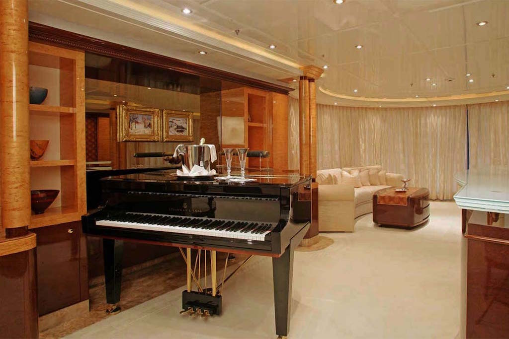 Salon Main Deck Piano